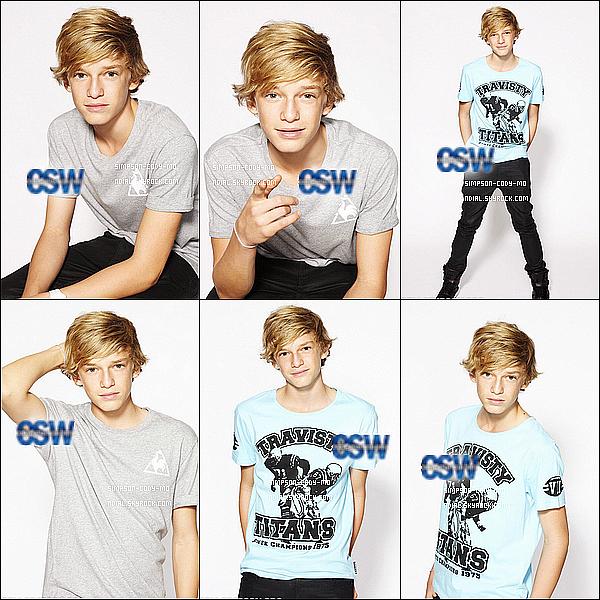 30/06/11 ♦ Cody Simpson a réalisé il y a quelques jours un photoshoot exclusif qui viens juste d'être dévoilé sur le site cody-simpson.org.