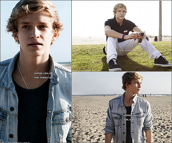 07/01/12 ♦  Découvre un photoshoot de Cody Simpson datant de 2011.