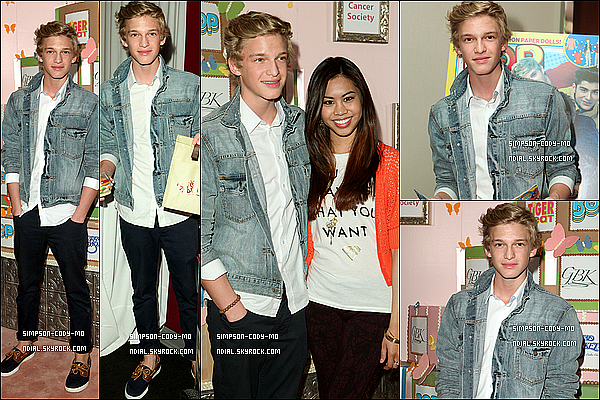 29/03/12 ♦ Cody Simpson était au BOP & Tiger Beat's Kids Choice Awards avec Ashley Argota à Beverly Hills.