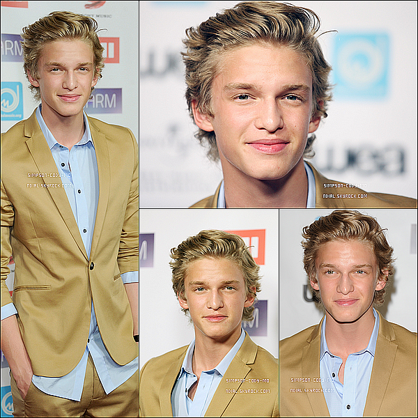 10/05/12 ♦ Cody Simpson était à la Narm Music Biz Awards Dinner Party à Century City .