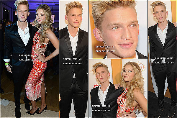 18/02/14 ♦ Cody Simpson était à New York pour les 50 ans de Sports Illustrated Swimsuit.