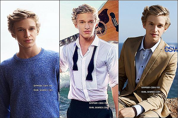 """21/08/12 ♦ Découvre le photoshoot de Cody Simpson pour son album """"Paradise""""."""