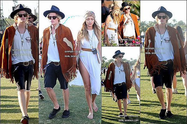 12/04/15 ♦ Cody Simpson était au festival annuel de Coachella à Palm Springs.