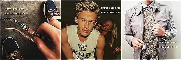 Instagram Time ♦ En ligne les photos postées par Cody Simpson du mois de Février 2013.