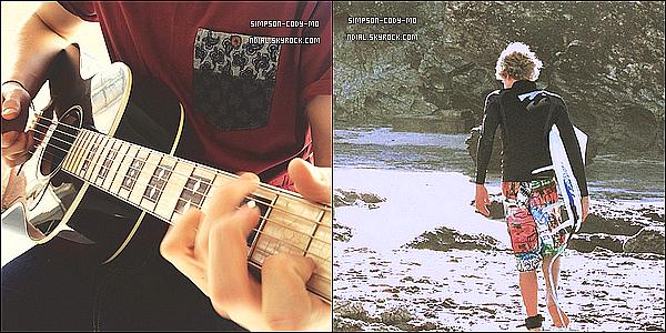 Instagram Time ♦ En ligne les photos postées par Cody Simpson du mois de Mars 2013.