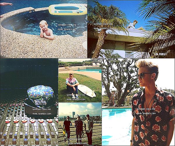 Instagram Time ♦ En ligne les photos postées par Cody Simpson du mois d'Avril 2013.
