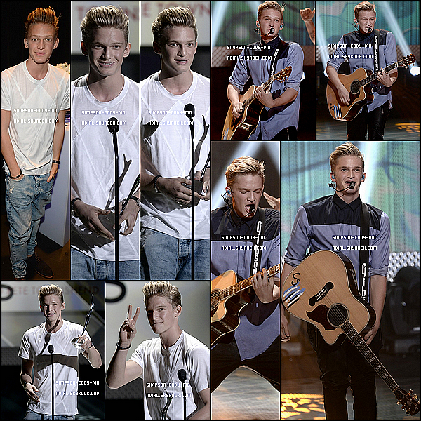 01/08/13 ♦ Cody Simpson était à la cérémonie des Young Hollywood Awards à Santa Monica.