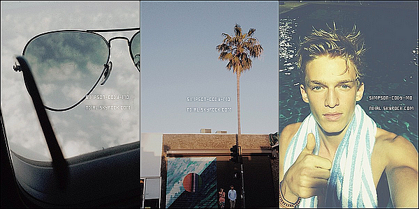 Instagram Time ♦ En ligne les photos postées par Cody Simpson du mois de Aout 2013.