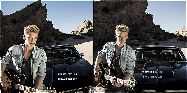 Photoshoot ♦ Cody Simpson a réalisé un photoshoot par le photographe G.Nutley.