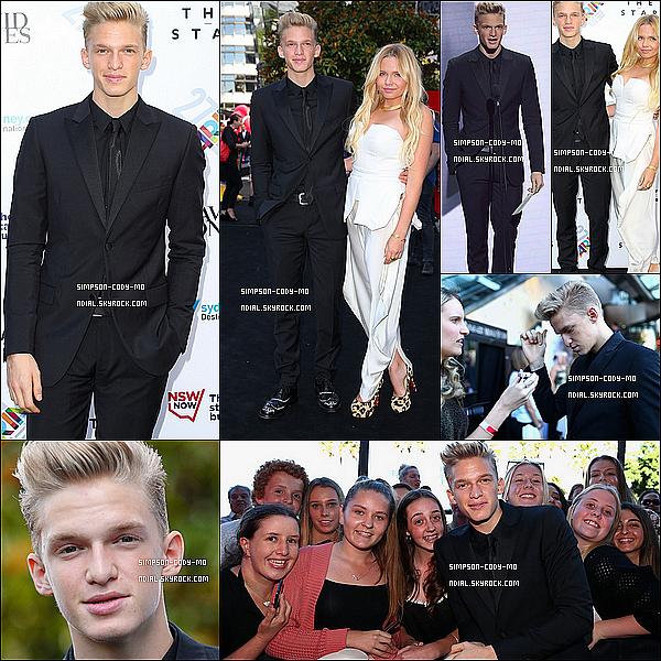 01/12/13 ♦ Cody Simpson était à la 27e cérémonie des ARIA Awards /2013 à Sydney.
