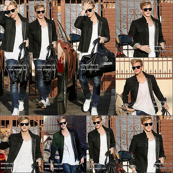 23/03/14 ♦ Cody Simpson a été vu quittant un studio de danse à Los Angeles.