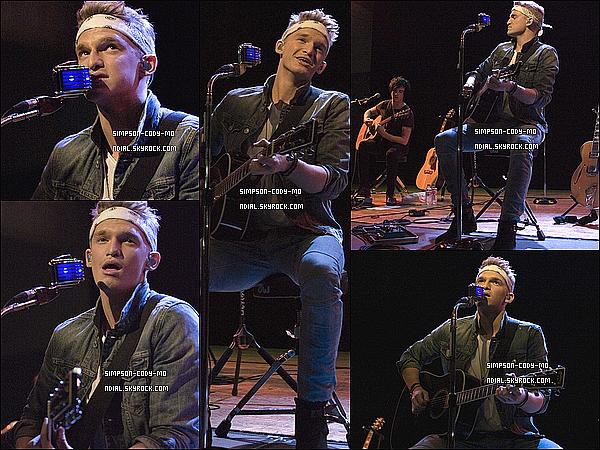 04/07/14 ♦ Cody Simpson a donné un concert à Dublin en Irlande.