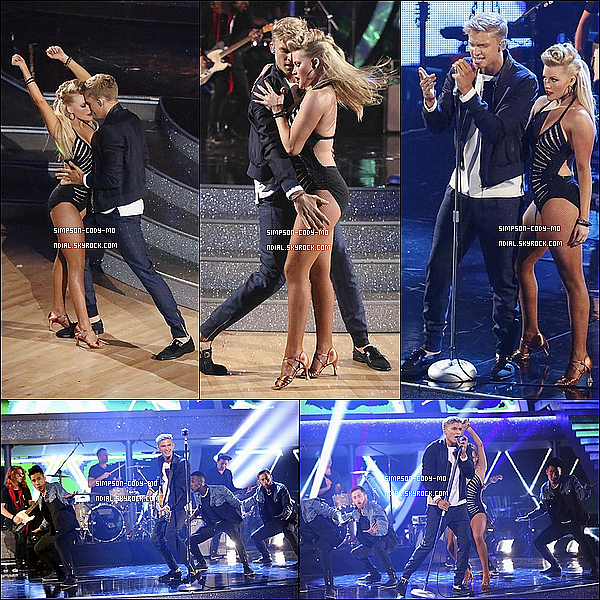 20/05/14 ♦ Cody Simpson était à la finale de DALS et il a performé son single Surfboard.