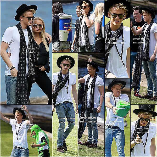24/09/14 ♦ Cody Simpson et sa soeur, Alli, ont fait une nouvelle promotion pour la Nickelodeon's 2014 Slimefest à Sydney.