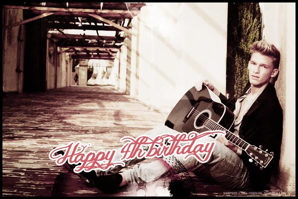 26/02/15 ♦ Happy 4th Birthday Simpson-Cody-Mondial.