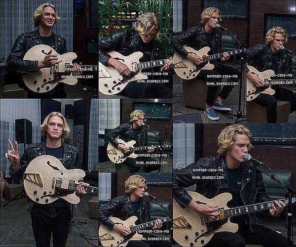 19/06/15 ♦ Cody Simpson était au Firefly Music Festival 2015 qui s'est déroulé à Dover.