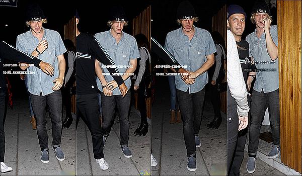 25/06/15 ♦ Cody Simpson et des amis ont été vu sortant du The Nice Guy dans Los Angeles.