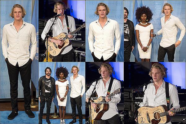 18/08/15 ♦ Cody Simpson a performé durant la World Humanitarian Day 2015 au United Nations à N-Y.