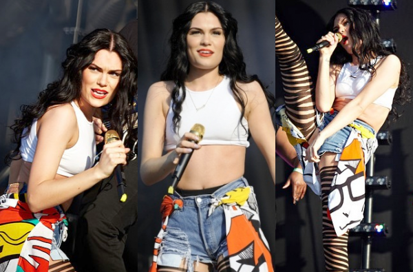 Jessie J au Wireless Festival