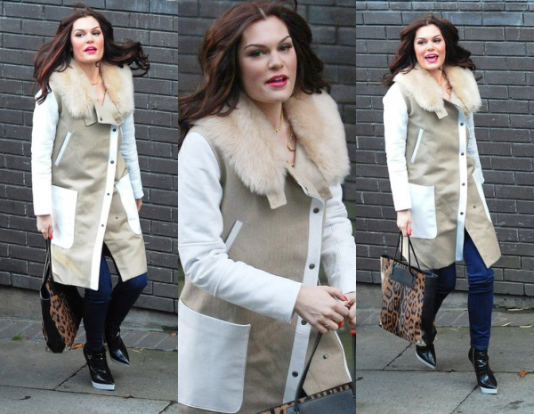 Jessie J en route pour Chatty Man !