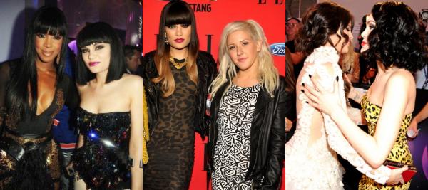 Jessie J et ses rencontres avec d'autres stars !