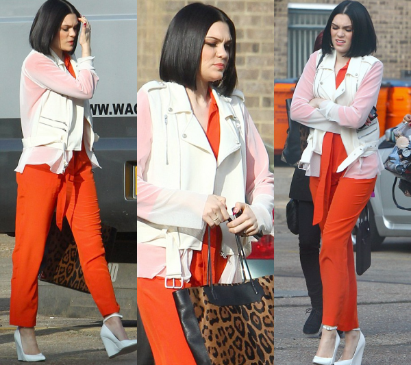 Jessie J en répétition pour The Voice UK 2