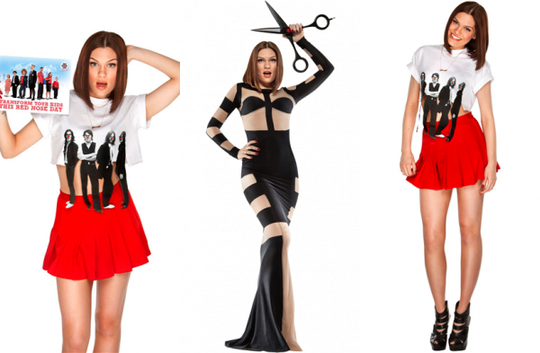 "Découvrez le photoshoot complet de Jessie J pour le ""Comic Relief Live"" (Red Nose Day)"