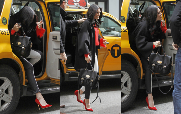 Jessie J dans New York pour l'enregistrement de son second album.