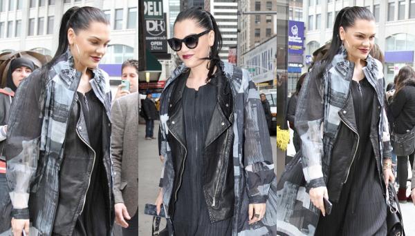 Jessie J dans New York.