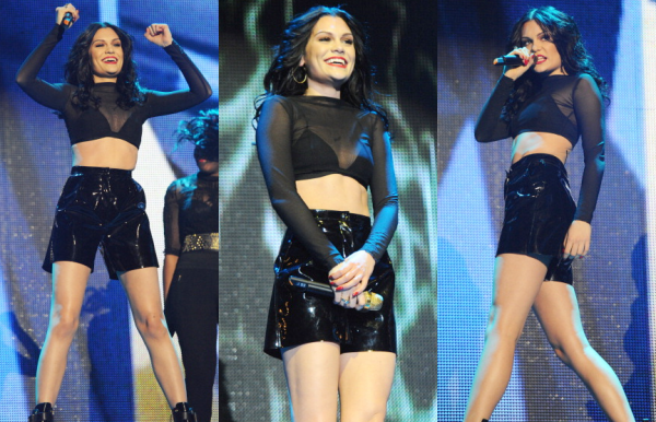 "Jessie J au ""Give It Up For Comic Relief"""