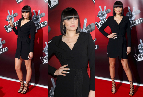 """Jessie J en conférence de presse pour """"The Voice UK 2"""""""