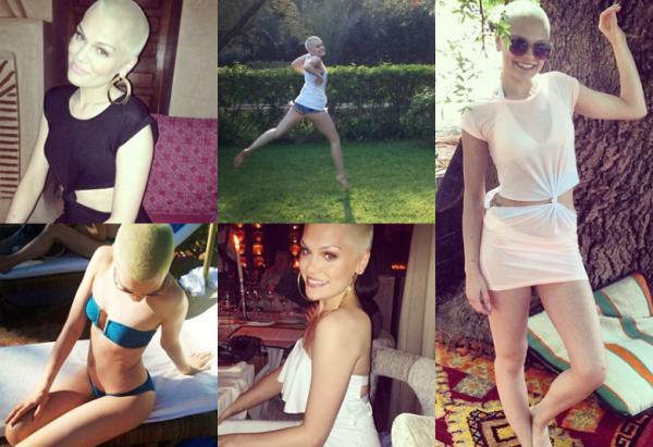 """Jessie pose pour le magazine """"The Hunger"""" et le """"TV Magazine"""""""