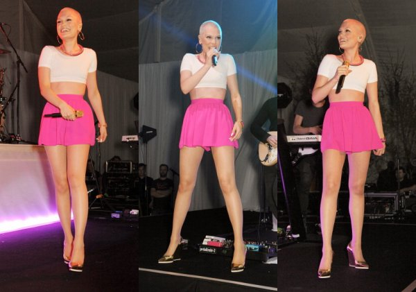 """02 Mai 2013 - Jessie J était présente au """"Gabrielle's Angel"""" afin de récolter un maximum de fonds pour la fondation qui soutient la recherche contre le cancer."""