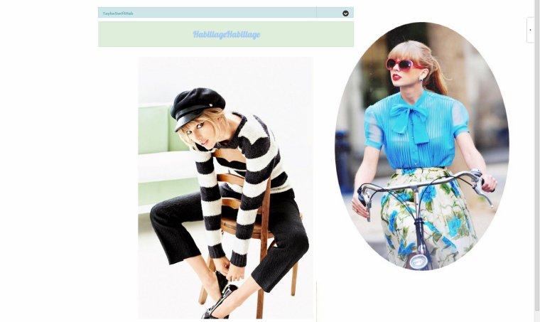 Taylor Swift Habillage