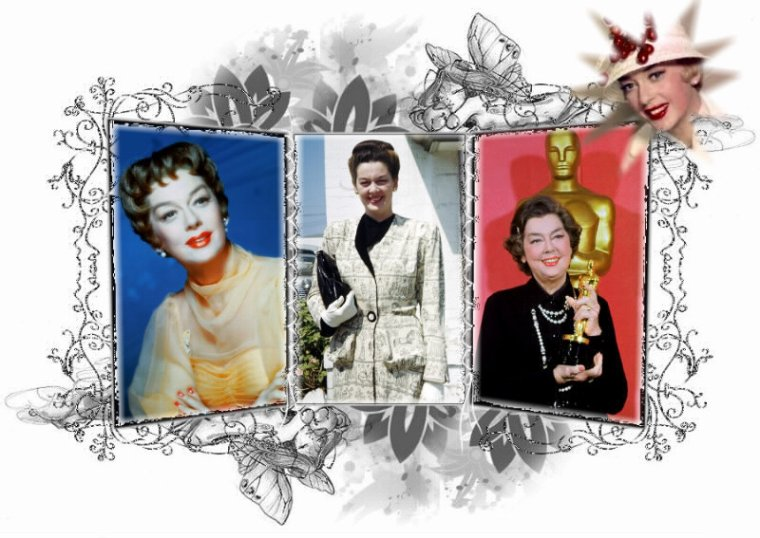 Rosalind RUSSELL (4 Juin 1907 / 28 Novembre 1976) (69 ans, cancer du sein)