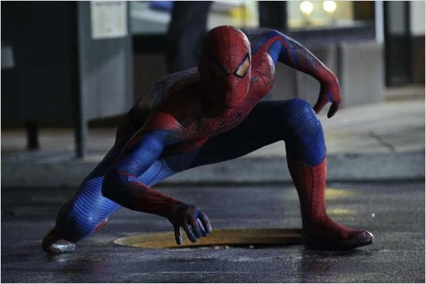 LE NOUVEAU SPIDER-MAN AVEC EMMA STONE
