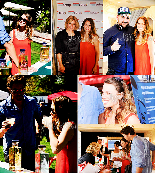 11 Avril 2013 - Bethany et Wes étaient aux 3rd Annual Rockn Rolla Movie Awards Eco Party.