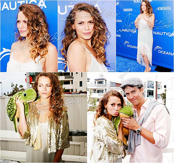08 Juin 2013 - Joy et son chéri Wes étaient à l'évènement Nautica & Oceana Present Inaugural Oceana . Joy est juste sublime dans sa robe blanche à franges, bon choix de coiffure également, c'est un top.