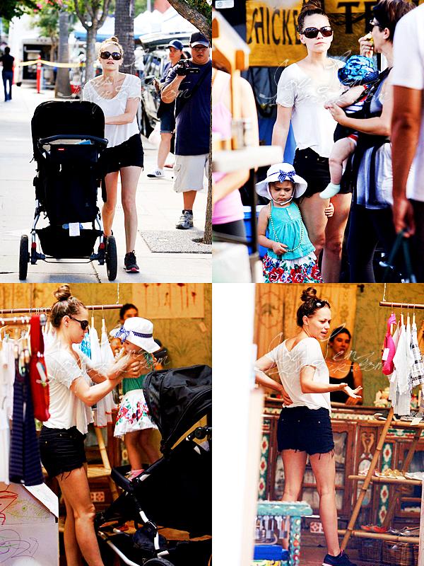 1er Septembre -  Joy et Maria se sont rendues au Farmer's Market à LA.
