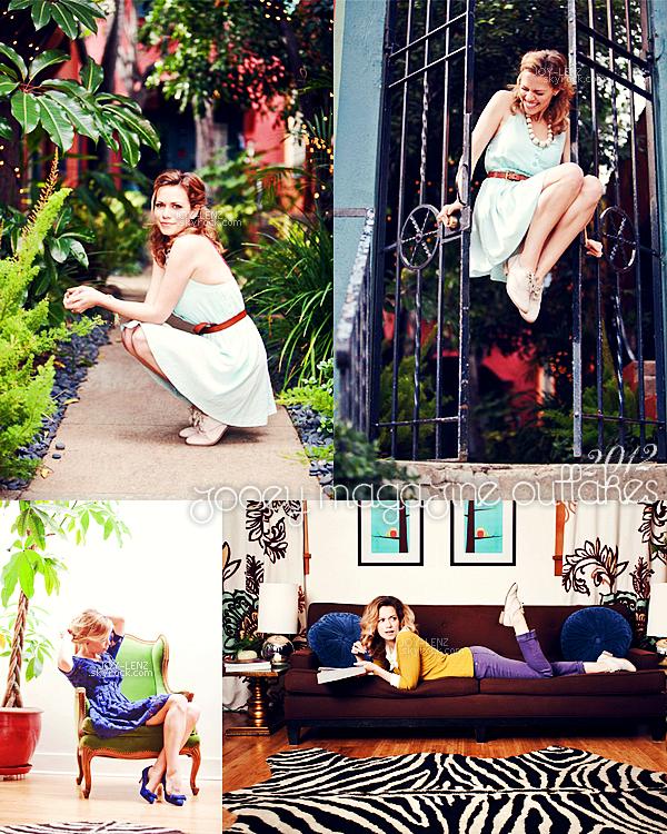 De nouveaux clichés d'un magnifique shoot de Joy pour Zooey Magazine sont sortis. Ce photoshoot a été réalisé en 2012.