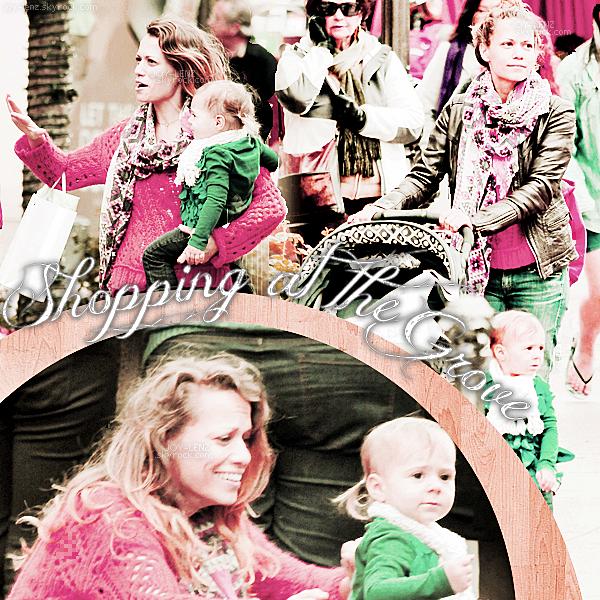 14 Décembre 2012 - Joy, Wes et Maria était au Grove.