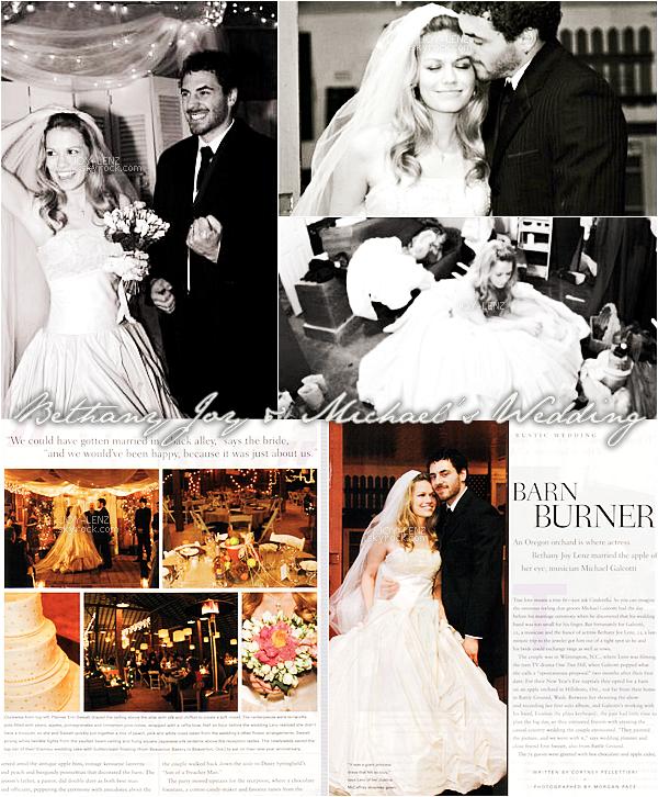 Quelques photos du mariage de Joy et Michael en 2005.