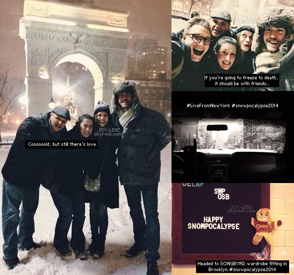 Le tournarge de Songbyrd devrait bientôt commencer. Pour l'occasion, Bethany est à New York avec Wes. Ils ont en profité pour aller au Washington Square Park avec des amis.