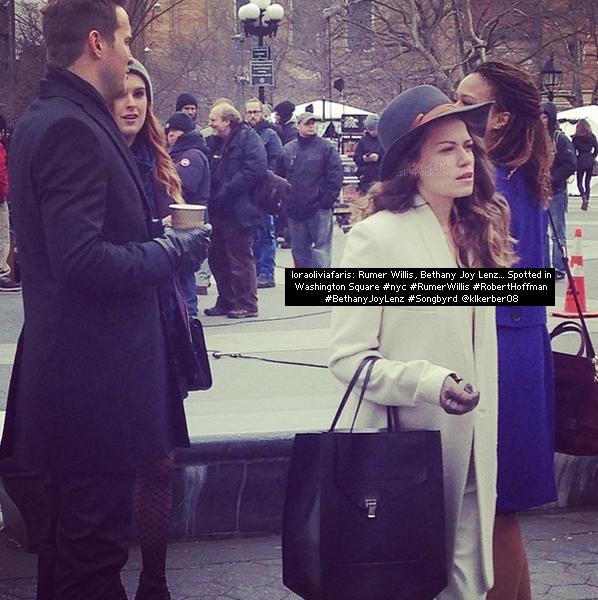 """21 Janvier 2014 - Le tournage de Songbyrd continue.  De plus, Bethany nous a montré son amour pour la neige par ce tweet :  """"Dear God,THANKYOUFORMAKINGSNOWTHISISSOOOOOOFUUUNNNNNandSPARKLYYYYY!!!! Love, Me"""", elle a également une photo."""