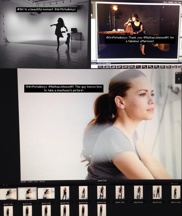 Voici un aperçu d'un photoshoot que Bethany a fait récemment. Hâte de voir les photos.