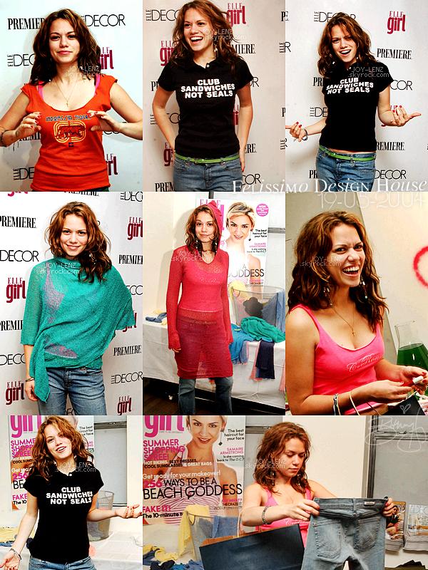 19 Mai 2004 - Bethany s'est rendue au Felissimo Design House.