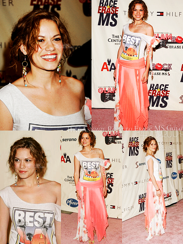 14 Mai 2004 - Bethany était au 11th Annual Race to Erase MS Gala.