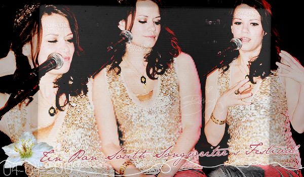 04 Avril 2009 - Bethany et Amber ont chanté au Tin Pan South Songwriters Festival à Nashville dans le Tennessee.