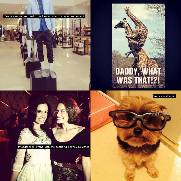 Les dernières photos que Bethany a posté sur Instagram.
