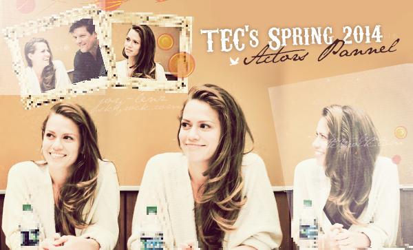 22 Avril 2014 - Bethany Joy Lenz était présente au TEC's Spring 2014 Actors Panel avec Paul Johansson. Stephen Coletti aurait pris part à l'évènement aussi.